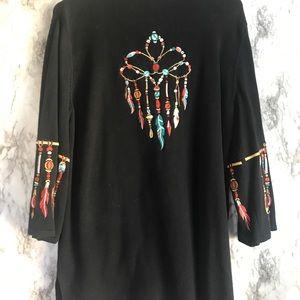 Bob Mackie Wearable Art Sweater